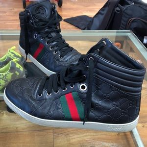 Men's Gucci ankle sneakers